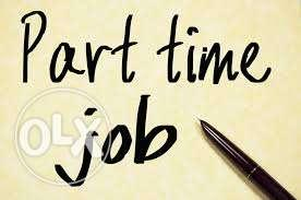 Part time job for freshers and experienced