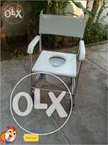Patient Commode Wheel Chair