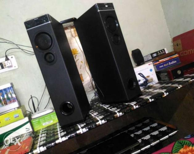 Philips 2.0 Tower Super Bass 3 way powerful sound