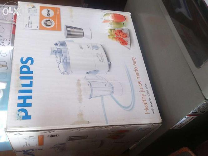 Philips Juicer Mixer Grinder with 2 Jars Brand New