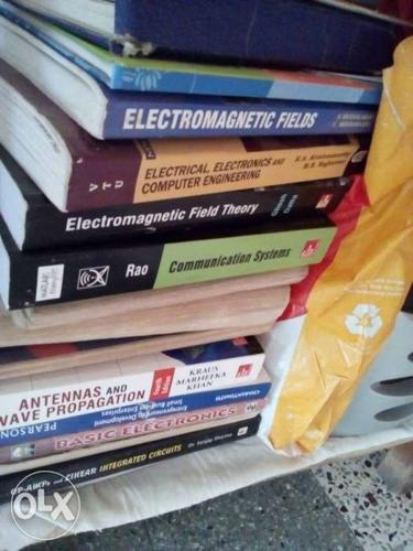 Pile Of Assorted Reference Books