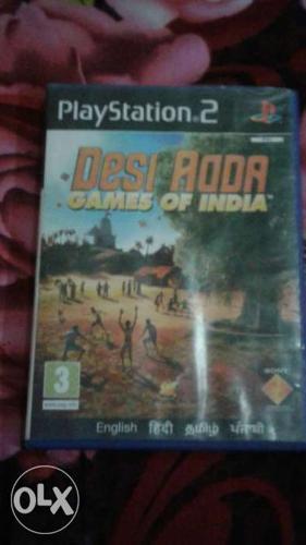 Playstation 2 Desi Roda Games Of India Game Case
