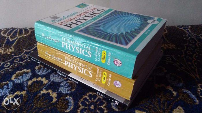Pradeep's Physics class-12(Vol 1&2)+Together With Physics