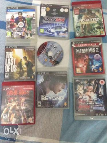 Ps3 games 9 blurays™