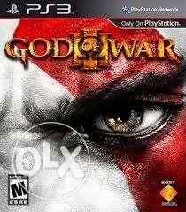 PS3 God Of War 3 Game Case