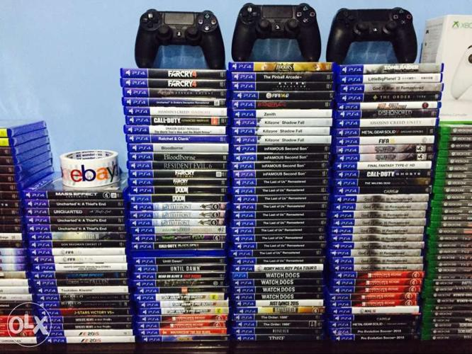 PS4 PS3 Xbox One Games Console Buy Sell Exchange