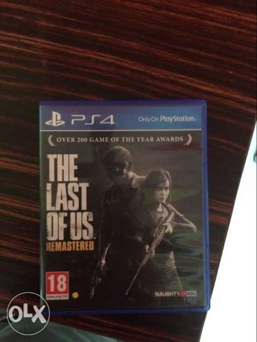 PS4 The Last Of Us Remastered Game Case