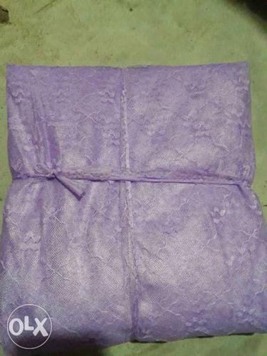 Purple Lace Textile