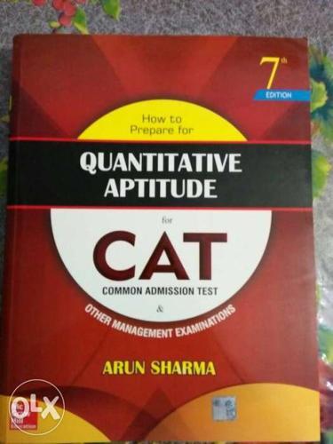 Quantitative Aptitude CAT Book