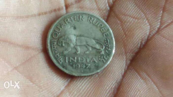 Quarter Rupee Coin