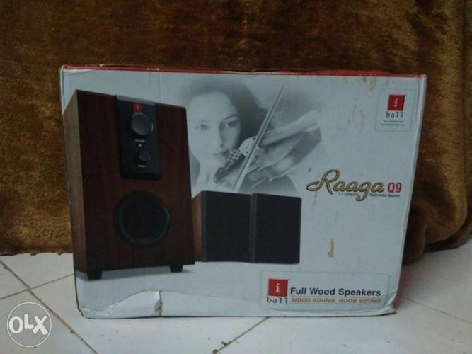 Raaga Full Wood Speakers New i ball brand