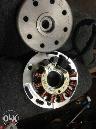 Raceing magnet power dynamo for rx the last stage