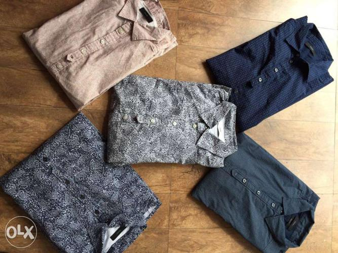 Ralph lauren and diesel original shirts