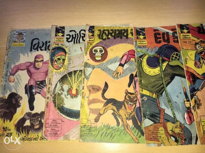 Rare indrajal comics in Gujarati for Sale in Haveli, Maharashtra