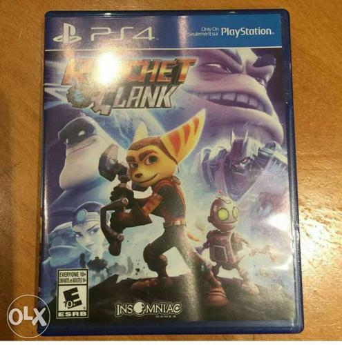 Ratchet and clank in brand new condition for ps4