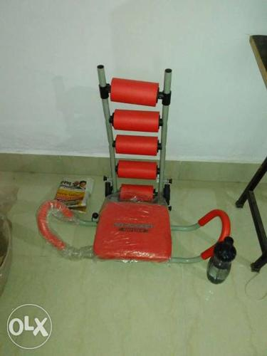 Red And Gray Ab Rocket it is unused and brand new