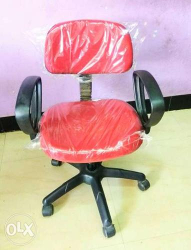 Red Rolling Chairs