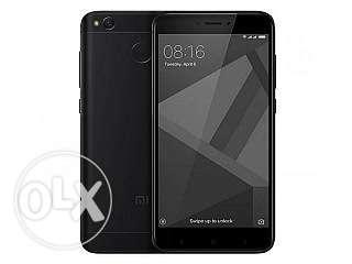 Redmi 4 black color 4gb Ram and 64 gb ROM sealed