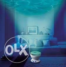 Romantic Ocean Daren Sea Waves Projector Lamp MP3