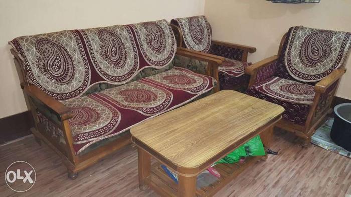 Amazing Sagon Ki Lakdi Ka Heavy Sofa Set Matr 22500 Me For Sale In Machost Co Dining Chair Design Ideas Machostcouk
