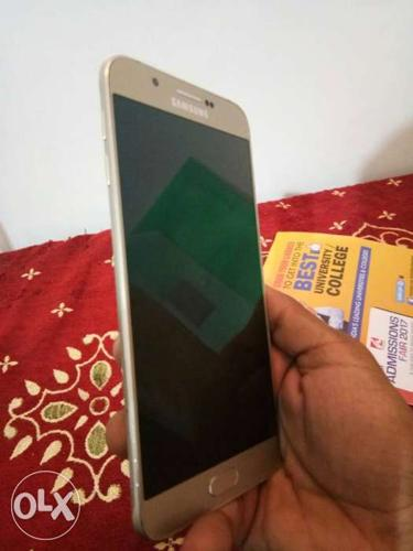 Samsung A8 one year old phone with Bill and