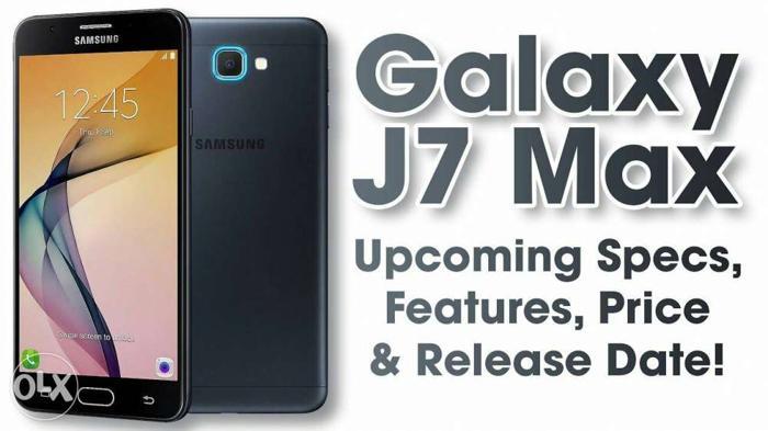 Samsung J7 Max 4gb ram 5.7 inch display 15 days old
