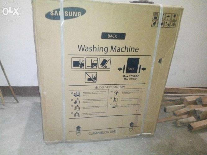 Samsung washing machine max 770kgf max lbf