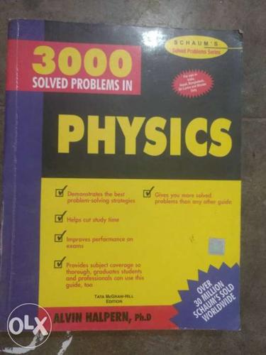Schaum's 3000 Solved problems in Physics for IIT