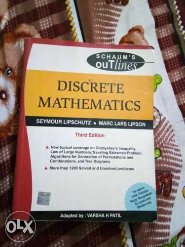 Schaum's Outlines Discrete Mathematics 3rd Edition Book