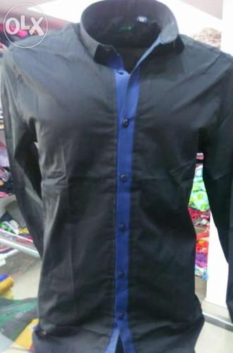 Semi casual shirt slim fit