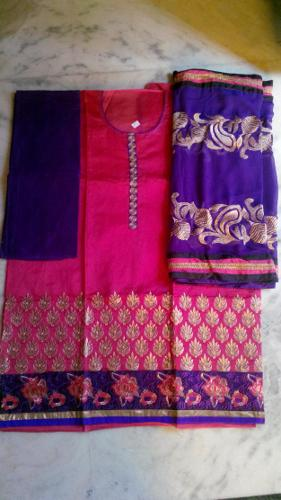 Semi Stitched Anarkali Dress For Sale at Rs. 1895/-
