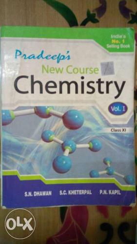 Set of pradeep's class XI chemistry books( vol 1