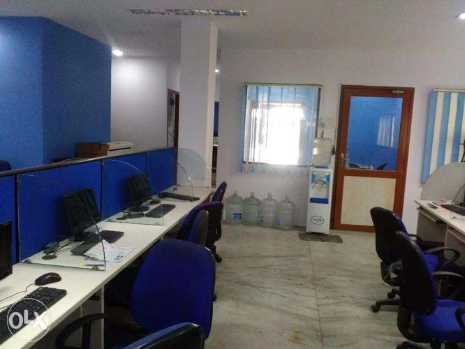 Shared Office Space for Rent , Fully furnished