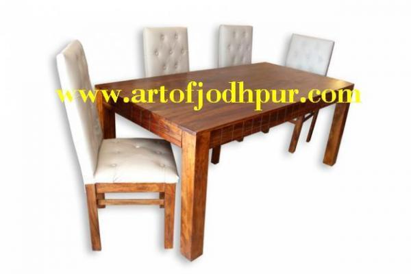 Sheesham Wood 5 Pc Dining Sets Hyderabad For Sale In