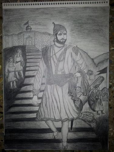Shivaji Maharaj Sketch For Sale In Nashik Maharashtra Classified | IndiaListed.com
