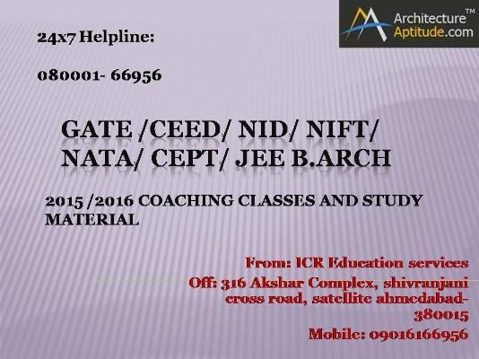 SHORT TERM COURSES FOR NIFT 2015 IN BOTAD, GUJRAT