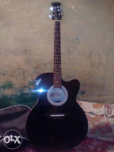 Signature guitar with 1 spectrum+strap+bag