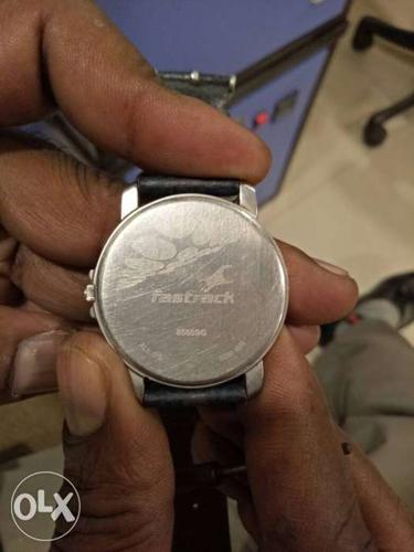 Silver Fastrack Watch