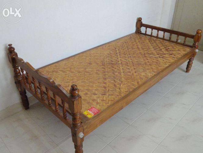 Single Teak Wood Cot For Sale In Kochi Kerala Classified