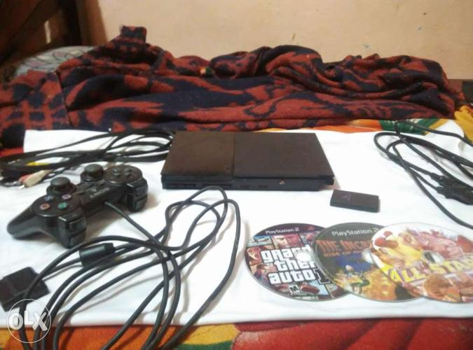 Sony PS2 working and in good condition.
