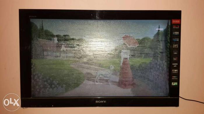 Sony tv 32 inch digital sound 2 year old