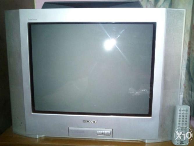 sony tv trinitron. sony wega tv 21 inches trinitron 3d sound system tv
