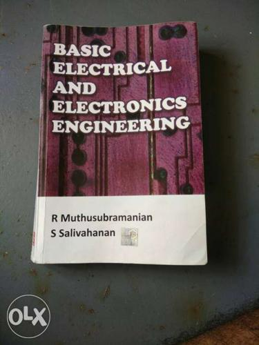 SRM booBasic Electrical And Electronics Engineering R