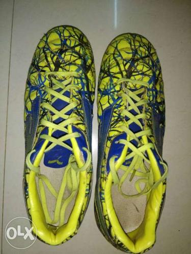 Starimpact.(yellow & blue)boot _(size 8) is