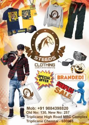 Steeds Clothing - Clearance Sale! - Chennai, CHENNAI