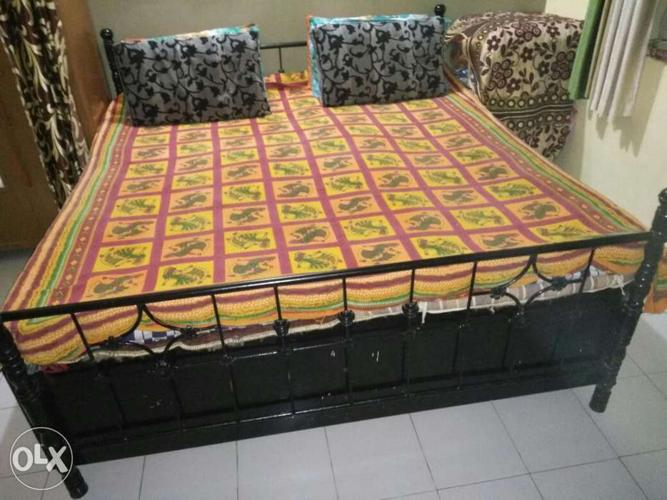 Steel Double Bed Patty Palang For Sale In Vadodara Gujarat