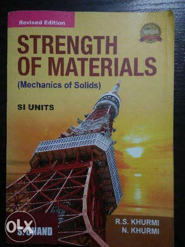 Strength of materials, S.Chand,