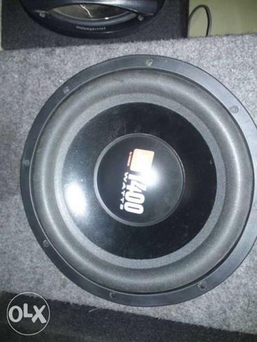Subwoofer 12 inch jbu 1400 watts and box lp