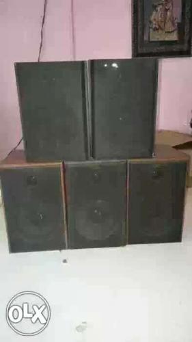 Surround speakers 5 , 4ohms, good condition