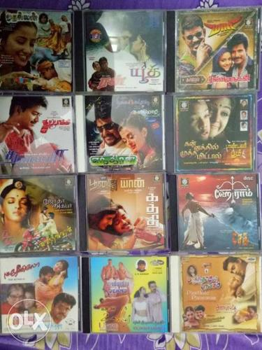 Tamil audio cd